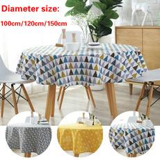 Polyester, roundtablecloth, householditem, polyestercotton