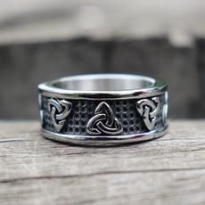 Steel, Celtic, Stainless Steel, trianglering