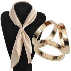 Fashion, Hollow-out, Simple, scarvesbuckle