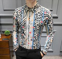 Fashion, Shirt, Sleeve, leopard print
