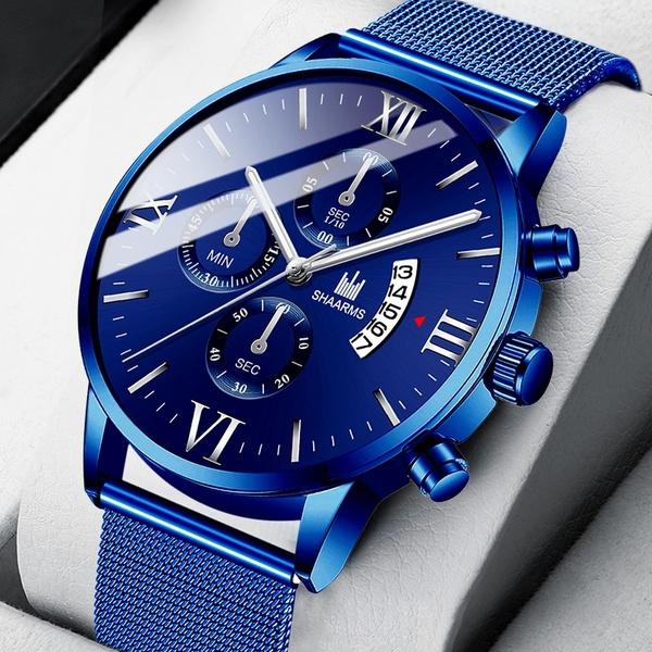Steel, Fashion, Stainless Steel, bluewatchesformen