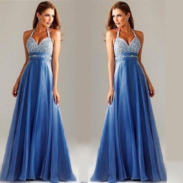 gowns, halter dress, Halter, Evening Dress