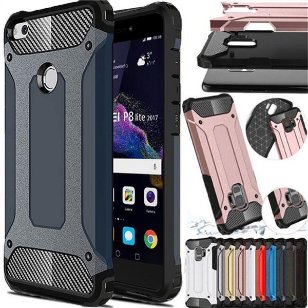 Hybrid Armor Full Cover For Huawei P8 P9 Lite 2017 P10 Plus P20 Pro P Smart Nova 3i Y5 Prime Y6 Y7 2018 Y9 2019 Honor 7A 7C Case   Wish