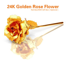 goldplated, Valentines Gifts, Flowers, lover gifts