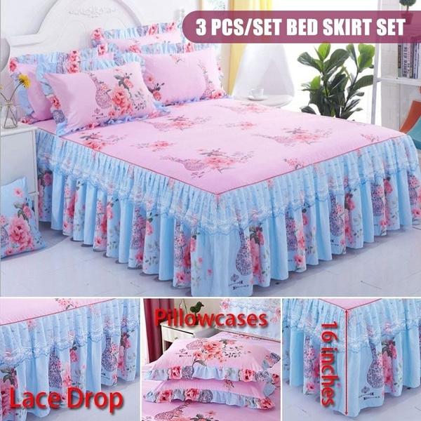 King, ruffle, Bedding, Home textile