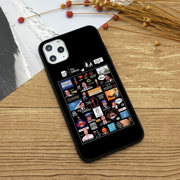 The Office US Montage pattern phone case for Iphone 11/11POR/11PORMAX/X/XS/XR/XSMAX/6/6P/7/7P/8/8P phone Case/Huawei P30/P30 POR | Wish