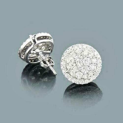White Gold, Hoop Earring, Dangle Earring, 14k white