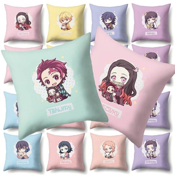 Home Decor, animecartoonpillowcase, Sofas, squarepillowcover