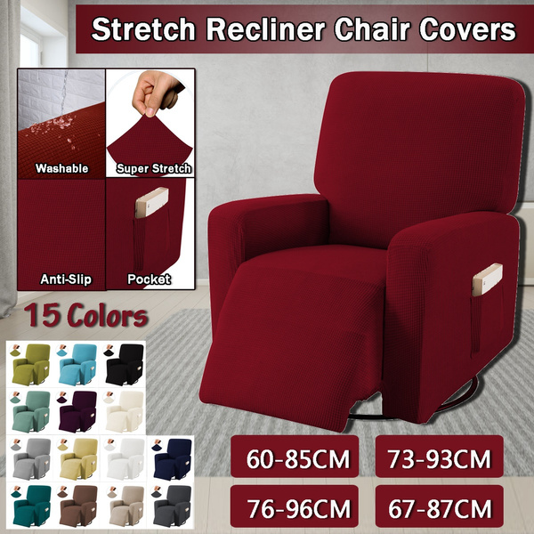 Stretch Recliner Chair Covers Washable, Chair Covers For Sofa Recliners