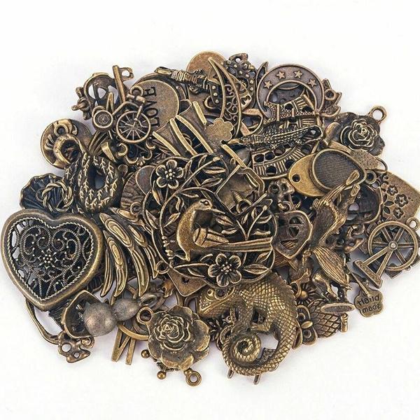 Bracelet Making, Vintage, Steampunk, necklace pendant