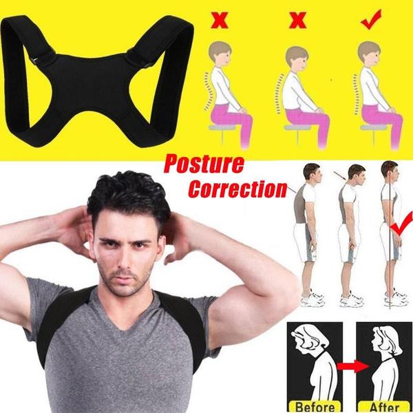 Shoulder, Adjustable, bodybrace, backcorrector