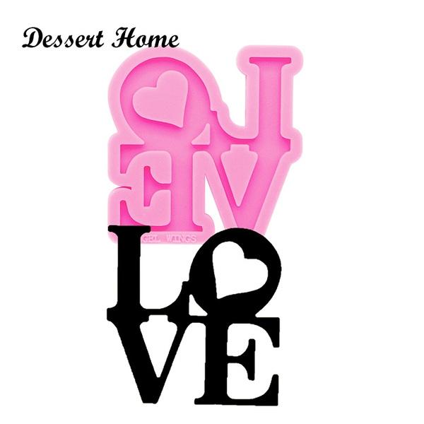 Love, Jewelry, epoxysiliconemold, epoxyresinmold