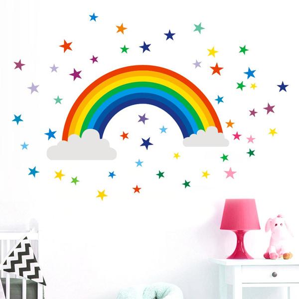 rainbow, art, windowsticker, Home Decor