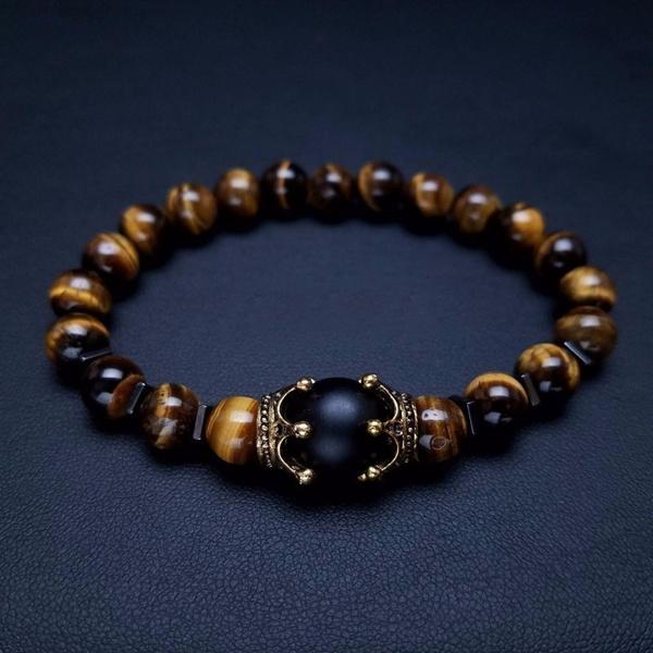 Antique, Charm Bracelet, Stone, Fashion