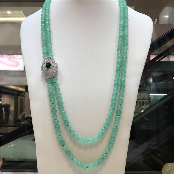 greenjade, Fashion, Jewelry, Chain