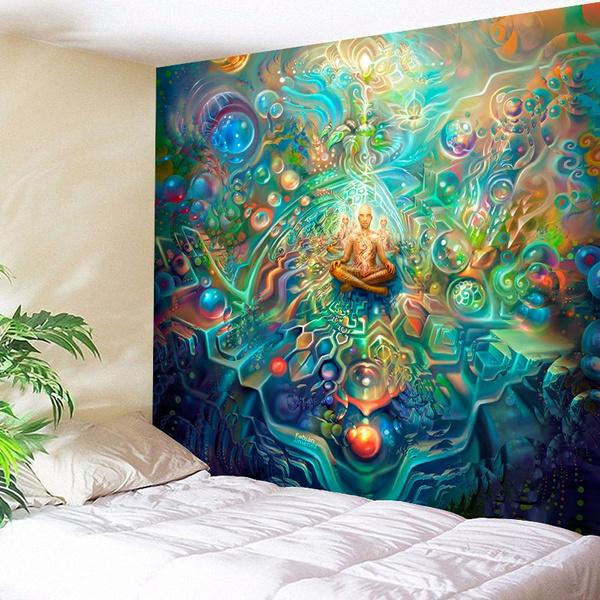 Beautiful, trippytapestrie, Wall Art, mandalatapestry