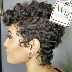 wig, motherwig, Shorts, bobhair