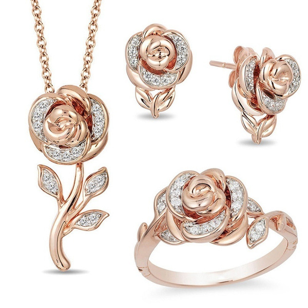 roseearring, Fashion, lover gifts, Gifts