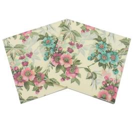 Flowers, Classics, napkin, decoration