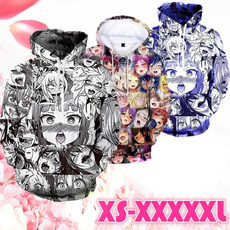 Kawaii, Spring Fashion, hooded, printed