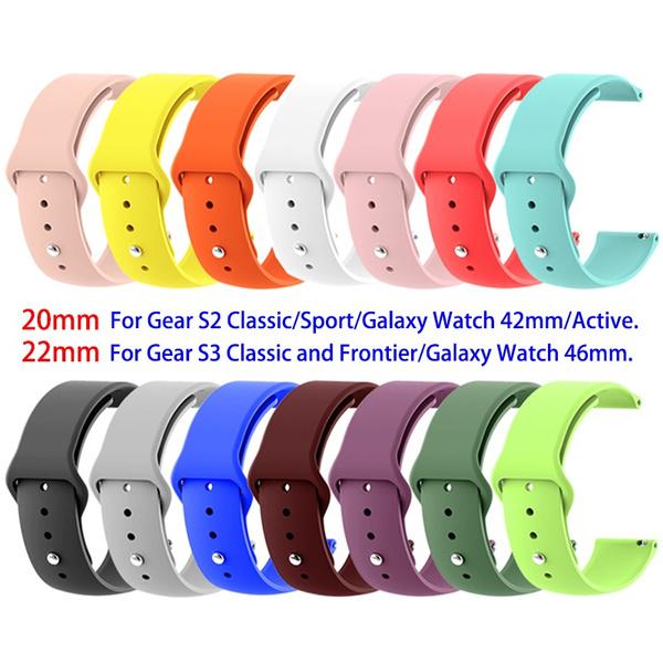 S3, galaxywatchactivestrap20mm, Colorful, Samsung