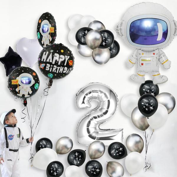 rocketballoon, 3rdbirthday, Decor, latex