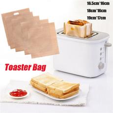 breadbag, bakedbag, toaster, paperbag