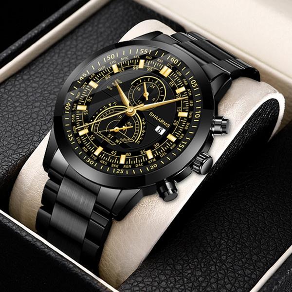 Fashion, Waterproof Watch, Stainless Steel, Watch