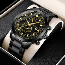 Fashion, Waterproof Watch, Stainless Steel, Watch