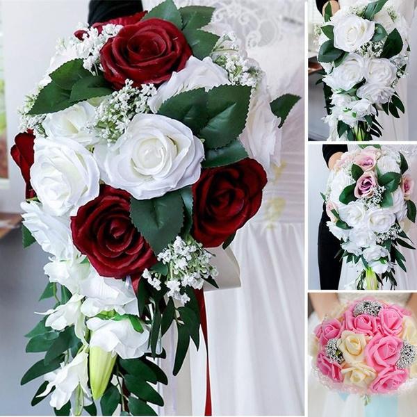 roseholdingflower, Flowers, Wedding Accessories, Bouquet