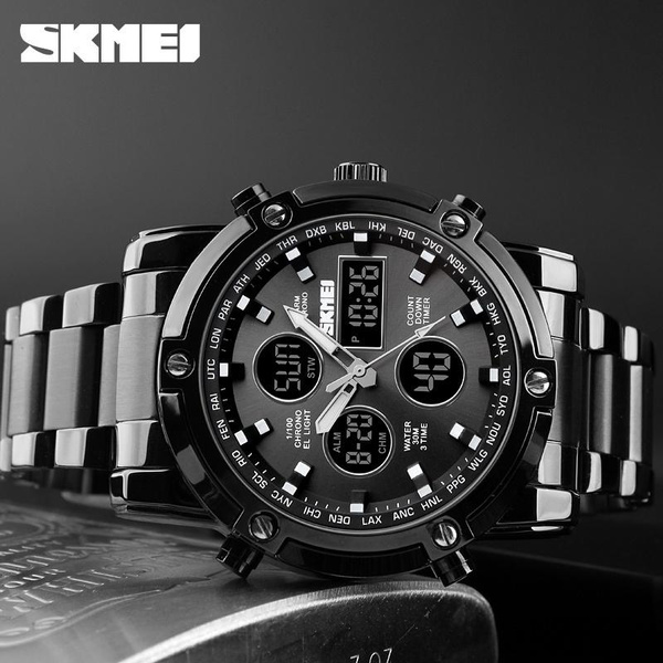 multipletimezone, Men Business Watch, Gifts, Clock