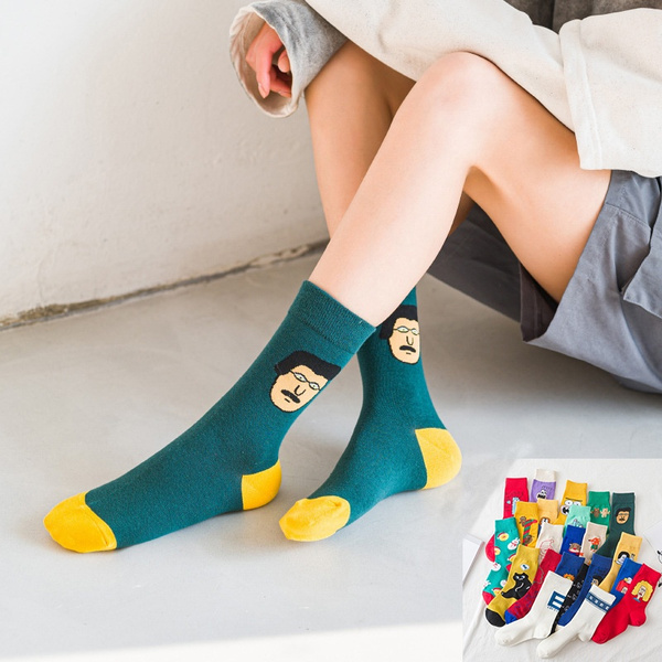 Funny, socksforwomen, Cotton, Gifts