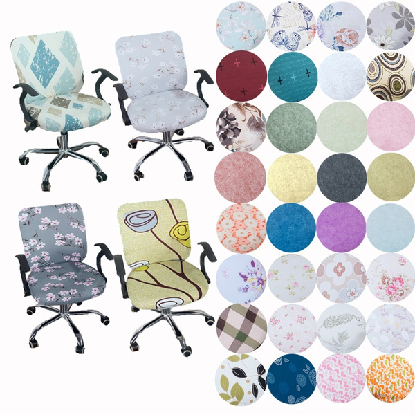 chaircover, Flowers, Spandex, Office