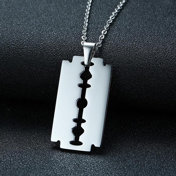 Steel, Razor, Blade, Jewelry