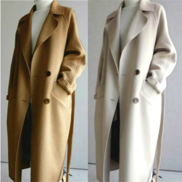 Oversize Trench Coat Wool Blend, Can A Trench Coat Be Worn In The Winter