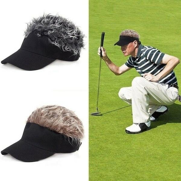 wig, haircap, Golf, Men