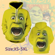3D hoodies, Fashion, greenhoodie, Sleeve