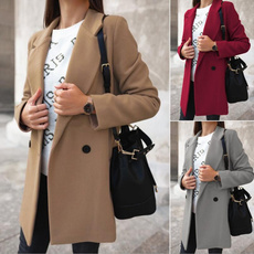 Casual Jackets, Fashion, Outerwear, wool coat