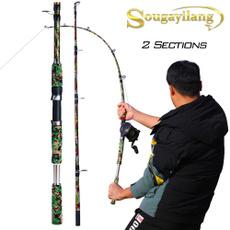 portablefishingrod, Fiber, carpfishingrod, seafishingtackle