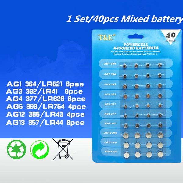Battery, button, Watch, Batteries