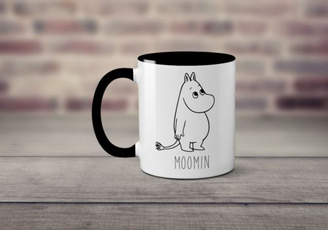 Funny, mumintroll, Gifts, Cup