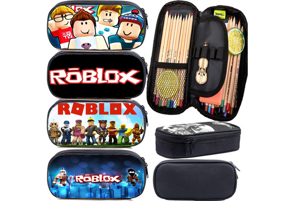 Fvip Cosmetic Makeup Pencil Pen Case Bag Roblox For Student Cool Roblox Pencil Case Students Pen Bag Kids Pencil Box Teens Stationery Bag Child Pencil Holder School Functionary Supplies Gift Wish