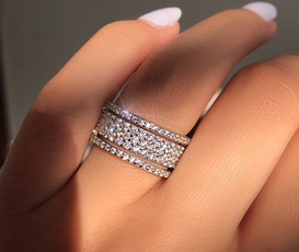 Couple Rings, Wedding, DIAMOND, Wedding Accessories