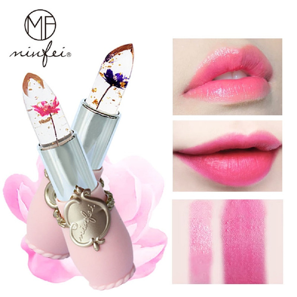 Flowers, Lipstick, gold, lipgloss