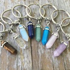 hexagonpendant, quartz, Key Chain, Gifts