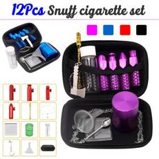snuffspoon, smokingset, snuffsnorter, tobacco