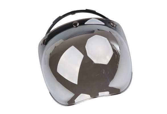 3-Snap Bubble Wind Shield Visor For Biltwell Gringo /& Bonanza MotorcyclevE