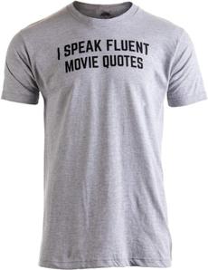 mensummertshirt, Funny, loose shirt, Movie