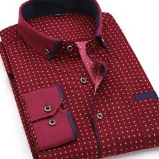 men shirt, Plus Size, Shirt, Long sleeved