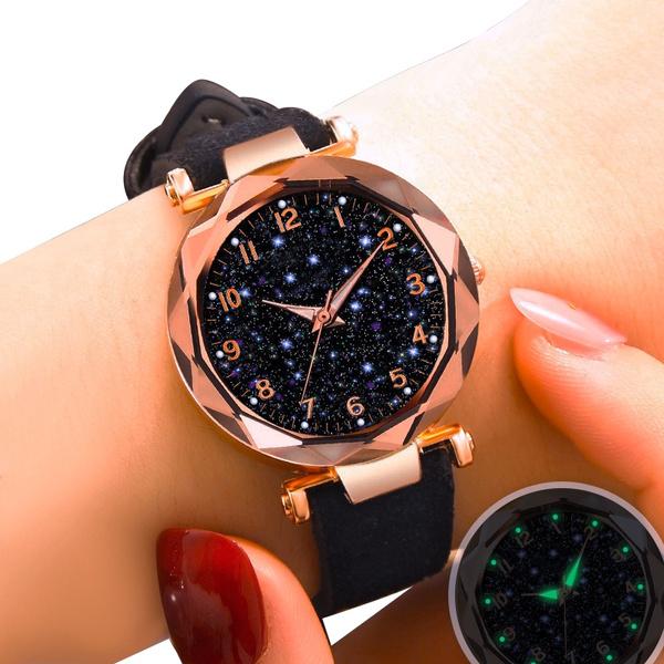 Fashion, часы, leather strap, Watch